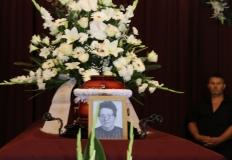 Ságiné Böbe temetése