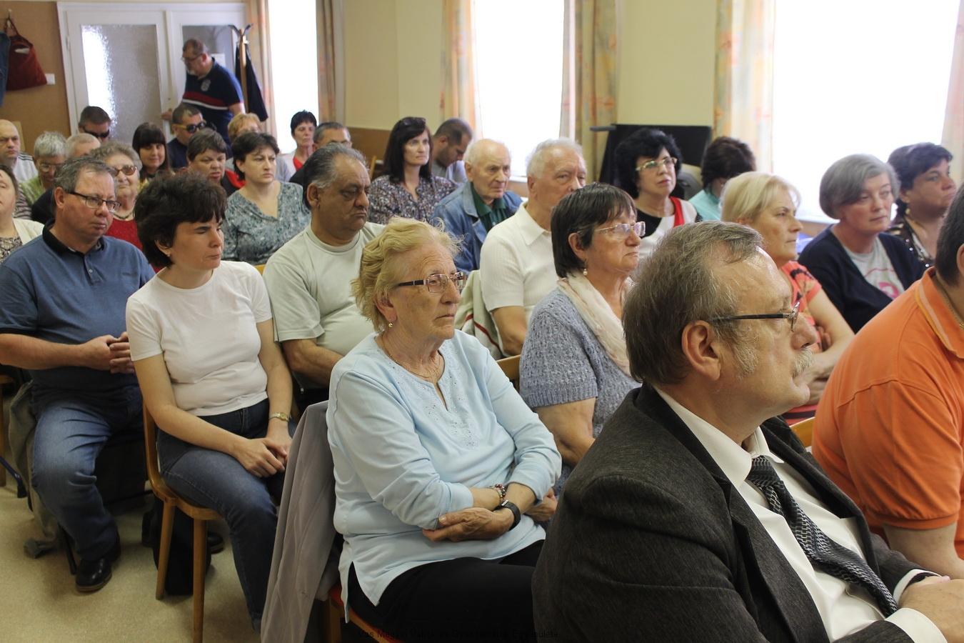 Fekete Árpád a Vas Megyei Szakosított Intézet igazgatója is részt vett a Közgyűlésen.