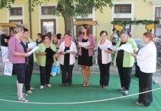 Az idén is énekeltek mellettünk a Petőfi telepért Egyesület kórusa.