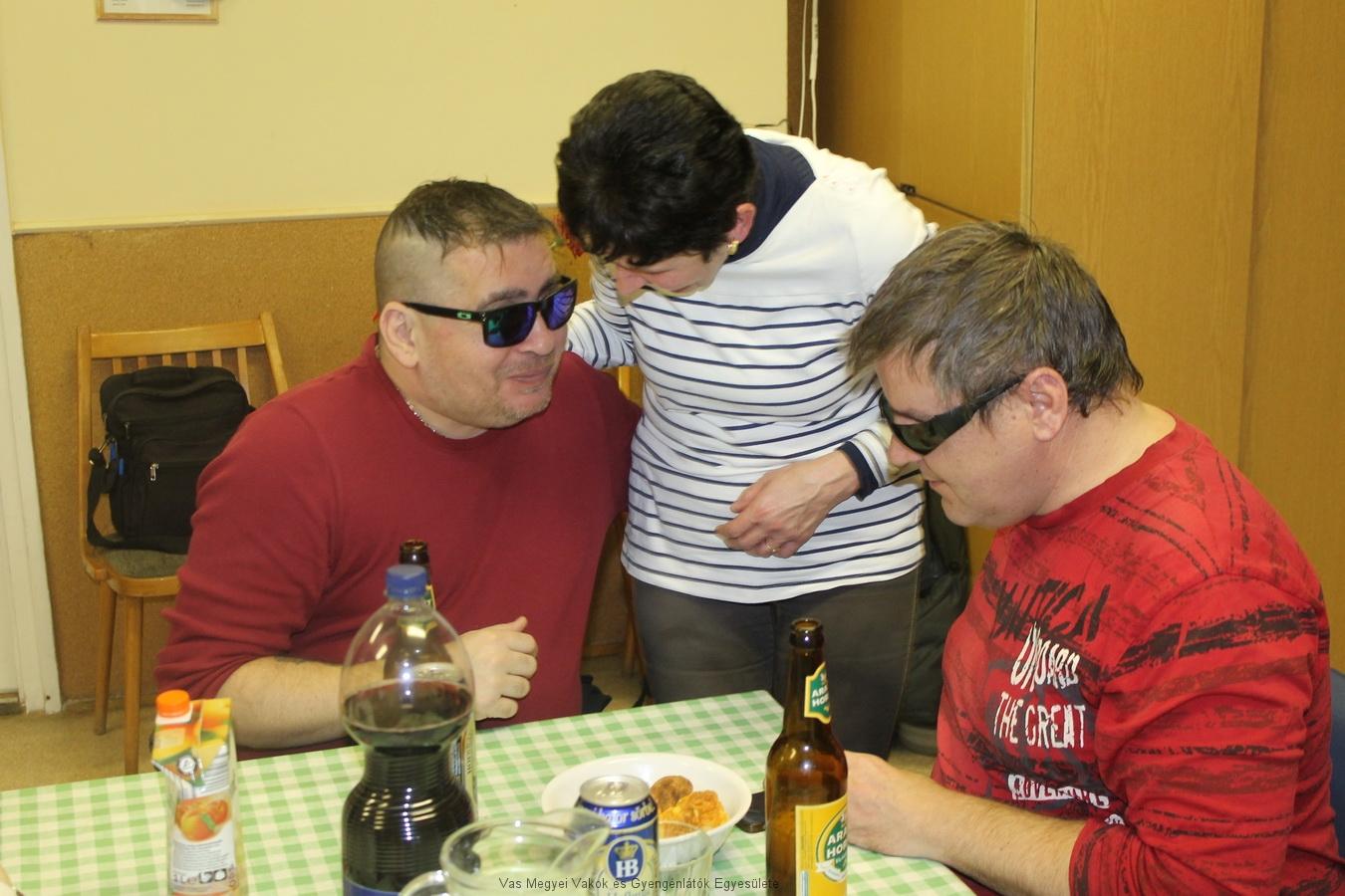 Varga Olivér, Andi és Kocsis Tamás.