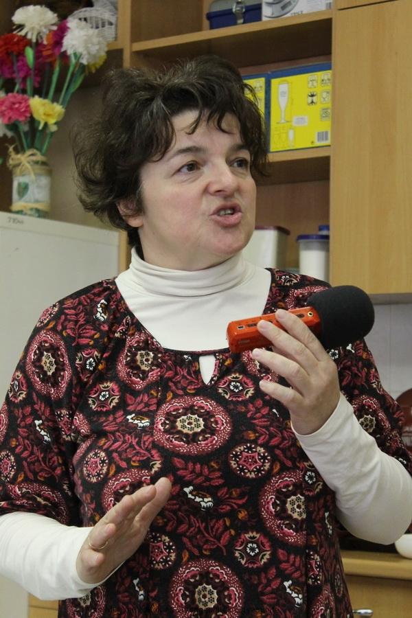 Peszlegné Kati a VÁI munkatársa ismertette szolgáltatásaikat.