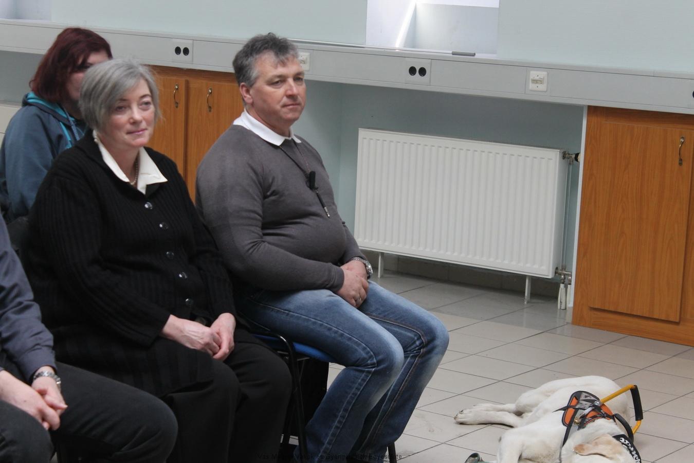 Bősze György és Vass Józsefné Vera vettek részt az idén a programban az Egyesület részéről.