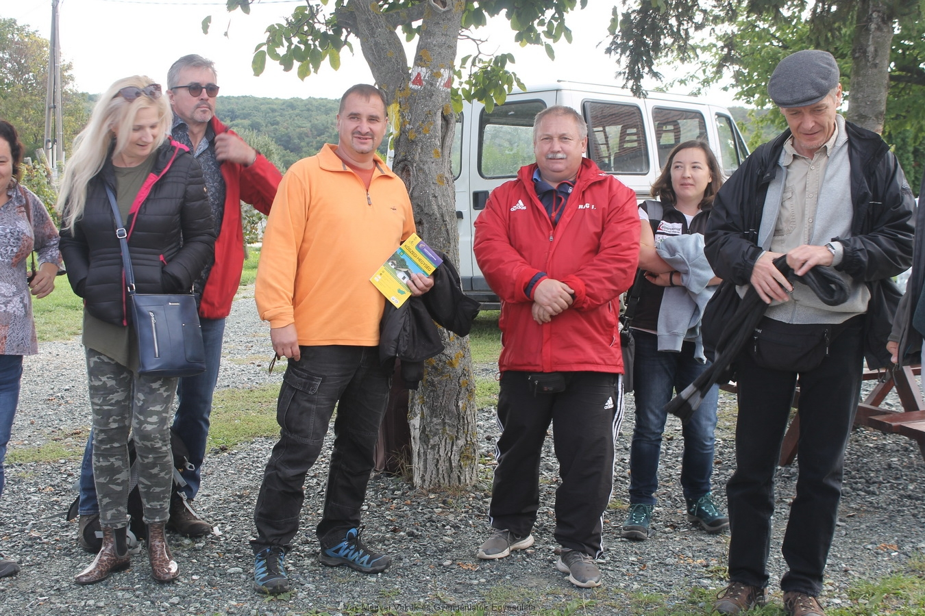 Virág János, Lukácsháza polgármestere köszönti a résztvevőket.