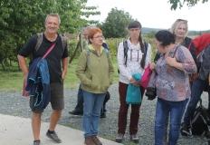 Megérkeznek a program résztvevői, gyógypedagógusok, túravezetők. A PaNaNet programban magyar-osztrák szakemberek vettek részt.