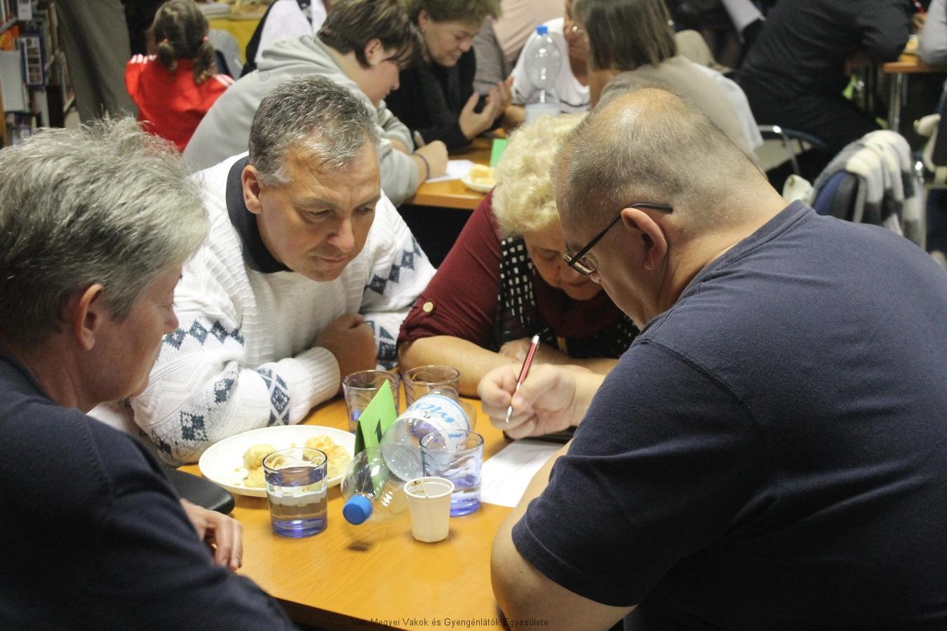 A VGYVE csapatát Bősze György, Nagyné Marika, Vass Józsefné és Sebestyén Miklós képviselte.